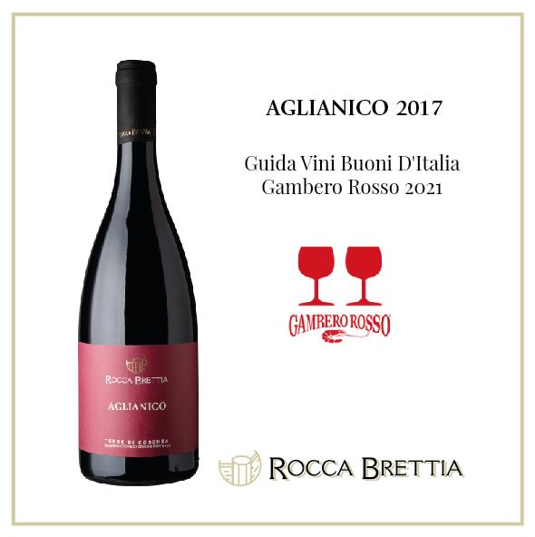 AGLIANICO 2017 TWO RED GLASSES