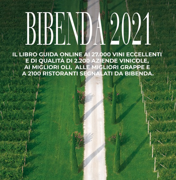 We are present in the Bibenda 2021 Guide