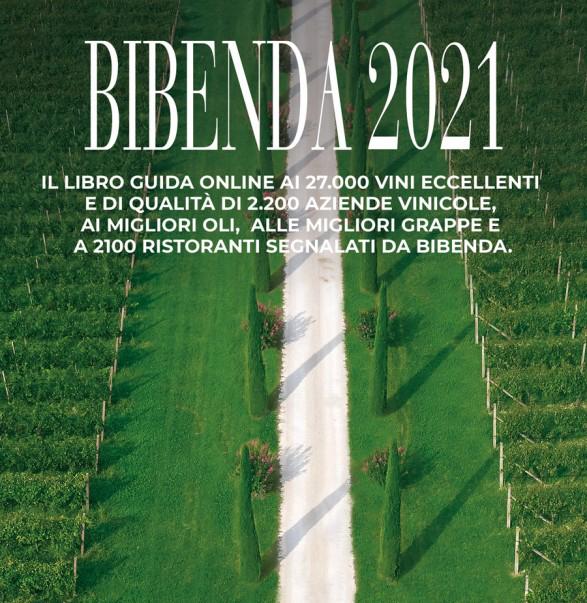 siamo presenti sulla Guida Bibenda 2021